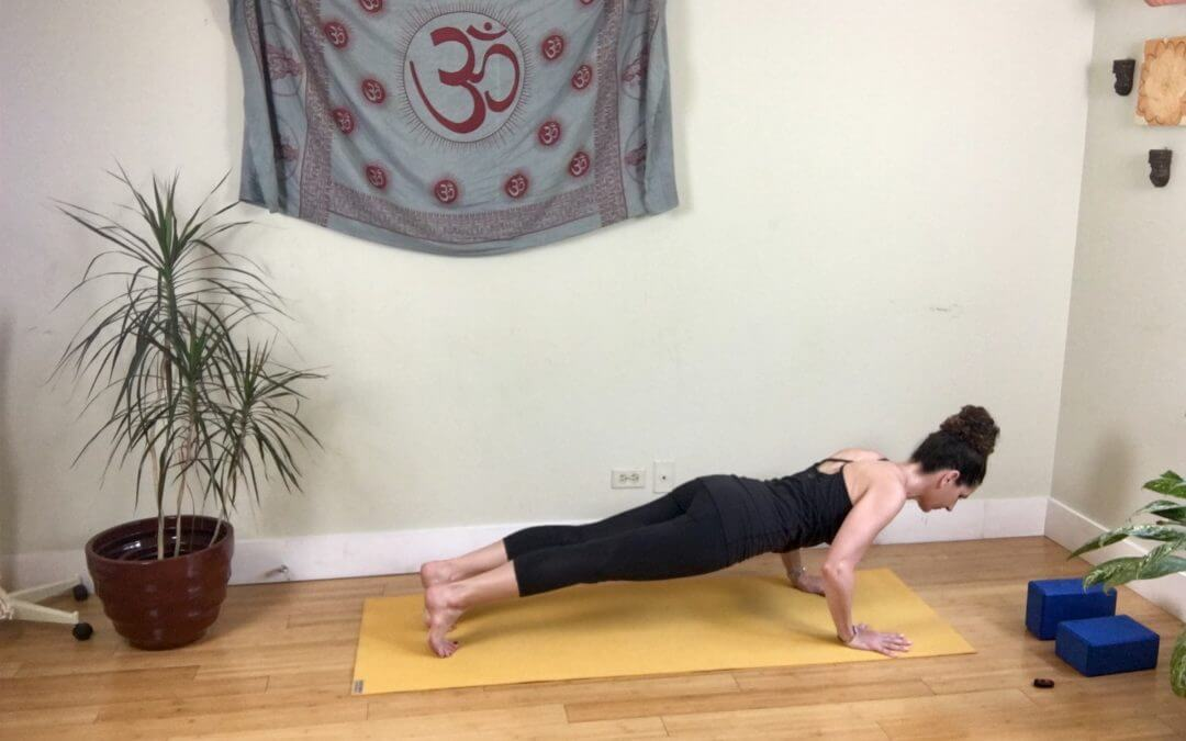 How A Few Changes in Chaturanga Can Impact Your Yoga Practice